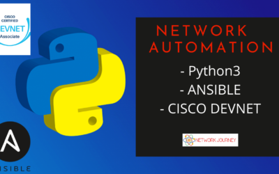 Network Automation with Python3, Ansible, Overview of Cisco Devnet – July 2020 Batch