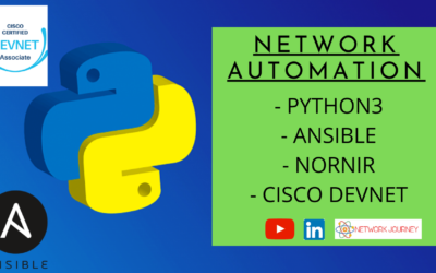 Network Automation with Python3, Ansible, Cisco Devnet – Feb 2021 Batch