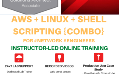 AWS Cloud Associate + Linux for Network Engineers – Dec 2020