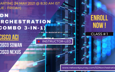CISCO ACI – a part of SDN COMBO Batch – May 2021